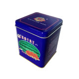 Het Gevormde Tin van de Container van het Tin van het Pakket van zaden Vierkant