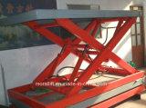 À l'arrêt CE Parking soulever la plate-forme de ciseaux