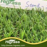 Естественное мягкое ощущение сада ландшафт искусственных травяных