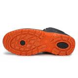 De in reliëf gemaakte Schoenen van de Bedrijfsveiligheid van het Kunstleder van Pu Goedkope (HD. 0830)