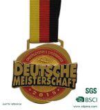 Preiswerte kundenspezifische Legierungs-Drache-Medaille mit Firmenzeichen (A-69)