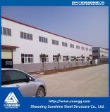 Costruzione della struttura d'acciaio con il materiale Q235 per il magazzino
