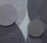 소결된 스테인리스 필터 디스크/납작하게 강철 디스크 필터/둥근 디스크 급수 여과기