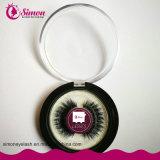 Wimper van de Mink van de Doos van de Zweep van het Pakket van het Embleem van het Merk van de douane de Kosmetische