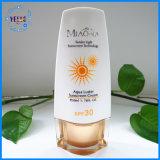 PE van het Ontwerp van de douane 50ml de Kosmetische Fles van de Room van de Zon van de Fles