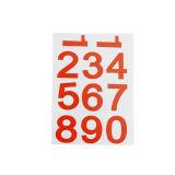 A4 Etiketten van de Sticker van het Serienummer van de Douane van de Grootte de Zelfklevende