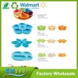 Antibiotische Bambusfaser-Imbiss-Platte des Dreiecks