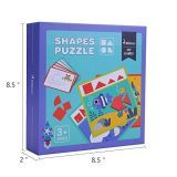 Anfänger-Muster blockt pädagogische Puzzlespiel-Spielwaren