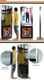 Visualización mágica del espejo, LCD que hace publicidad del espejo TV