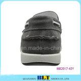 Nuevo barco de zapatos de cuero impermeable Popular