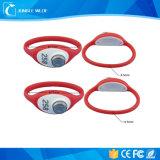 O plástico RFID TM esperto do ABS carda braceletes impermeáveis do TM