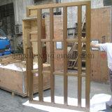Дверная рама цвета золота нержавеющей стали нержавеющей стали ODM OEM изготовленный на заказ почищенная щеткой изготовлением
