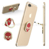 Skull Shape Boxing ring Holder for Mobile Phon with Zinc Alloy Material