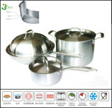 3ply roestvrij staal Induction Cookware