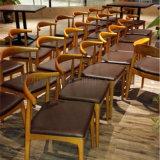 Mobília de madeira escandinava minimalista do restaurante de Uptop (SP-CS338)