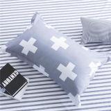 安いMicrofiberの敷布の羽毛布団カバー寝具セット