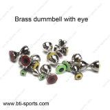 Mosca d'ottone di Dumbbell che lega i branelli con l'occhio 08A-003