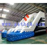 Les enfants du Paradis Diapositive gonflable/la piscine de l'eau Diapositive gonflable
