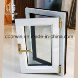 Interrupção térmica branca e gire a janela Inclinação de alumínio