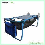 Novo Design 2 Rodas mesa dobrável de aço rolante carrinhos de praia