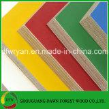el papel de la melamina de 17m m hizo frente a la madera contrachapada del grado de los muebles