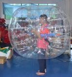 PVC TPU Pop Humano Parque de atracciones Inflables de fútbol Parachoques Bubble Ball