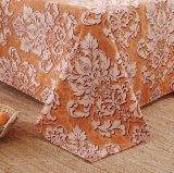 A coleção do fundamento 1800 escovou as folhas de base 4-Piece ajustadas, linho de base da tampa do Duvet