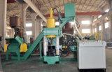 Imprensa de alumínio hidráulica do carvão amassado da microplaqueta do ferro de sucata