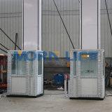 O tipo 2m Ce/ISO do Morn hidráulicos tem elevadores Home verticais da cadeira de rodas da escada do elevador da cabine para a pessoa idosa