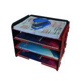 3 van kolommen het Dienblad van het Dossier van het pp- Schuim voor de Opslag van de Kantoorbehoeften van de Desktop