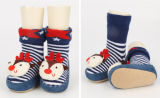 First Step Prewalkers TPR Plates Knitting machine Socks Shoes Baby in Bulk Eco-Friend