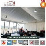 Tiendas al aire libre impermeables de la carpa del PVC del blanco de aluminio para el acontecimiento