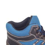 Breathable ботинки безопасности пальца ноги PU единственные стальные