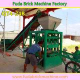 Máquina de tijolo de betão semi-automática multifunções barata