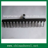 Rake Head High Quality Railway Steel Twist Teeth Rake Head