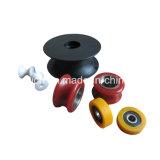 Kit di plastica della rotella del rullo del portello scorrevole V dell'OEM del rimontaggio della scanalatura solida della muffa