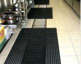 Anti-Fatigueゴム製床のマット、抗菌性の排水のマット