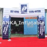 PVC商業膨脹可能な正方形のイベントのアーチ