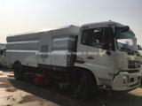 Dongfeng 9000L Limpiador de asfalto camión barredora vial de alta calidad