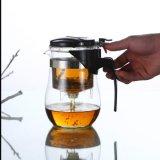 صنع وفقا لطلب الزّبون آنية زجاجيّة [برإكس غلسّ] [تبوت] محدّد [بوروسليكت غلسّ] شاي مجموعة