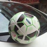2016高品質のヨーロッパのコップのフットボールのPUによって点を打たれるタイプ標準サイズ5のゲームのトレーニングのサッカーボール
