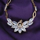 Jewellery способа женщины Zircon фабрики Китая желтого золота большой