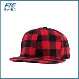 Custom de terciopelo de primera calidad para el hombre sombrero Snapback