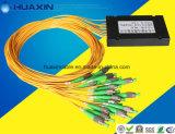 Divisor óptico del PLC 1*16 de la fibra encajonada con el conector de FC/APC