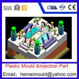Projeto de molde, molde que faz, injeção plástica, montagem do produto