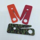 Cores do logotipo Mini Slim Card Sharp Cinturão de segurança Knife Emergency Seatbelt Cutter