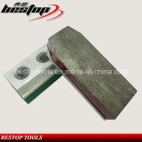 Bloque de pulido dividido en segmentos bajo de aluminio del diamante para el granito de pulido