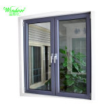 Doppio vetro che fa scorrere la finestra di alluminio di vetro Tempered