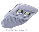 40W IP66 LED Outdoor Street Light con 5-Year-Warranty (Semi-taglio)