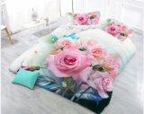 Insieme di camera da letto domestico del tessuto 3D del poliestere della tessile